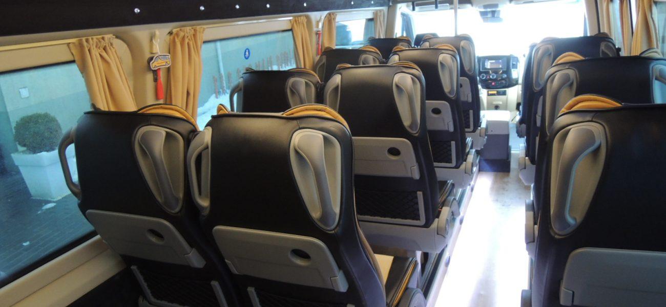 Wnętrze busa
